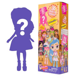 Boxy Girls UnboxMe. Your kiddo will love the surprise and mystery of opening one of these Boxy Girls UnboxMe toys. Each box includes one out of 36 dolls that all exude fun, fashionable flair, and their own unique personalities.