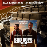 Bad Boys For Life 4DX Experience - Movie Review. The Bad Boys Mike Lowrey and Marcus Burnett are back together for one last ride in the highly anticipated Bad Boys for Life. Read my full Bad Boys 4 Life 4DX Expereince and Movie review on my blog now!