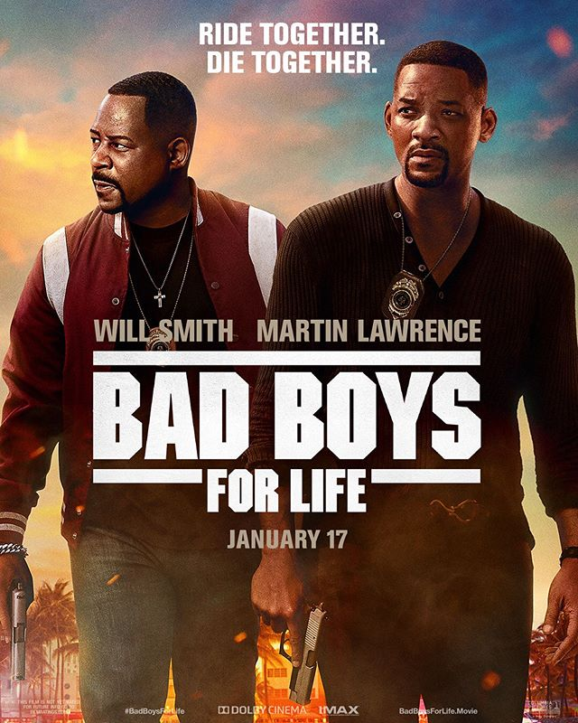 Bad Boys For Life Poster.The Bad Boys Mike Lowrey and Marcus Burnett are back together for one last ride in the highly anticipated Bad Boys for Life. Read my full Bad Boys 4 Life 4DX Expereince and Movie review on my blog now!