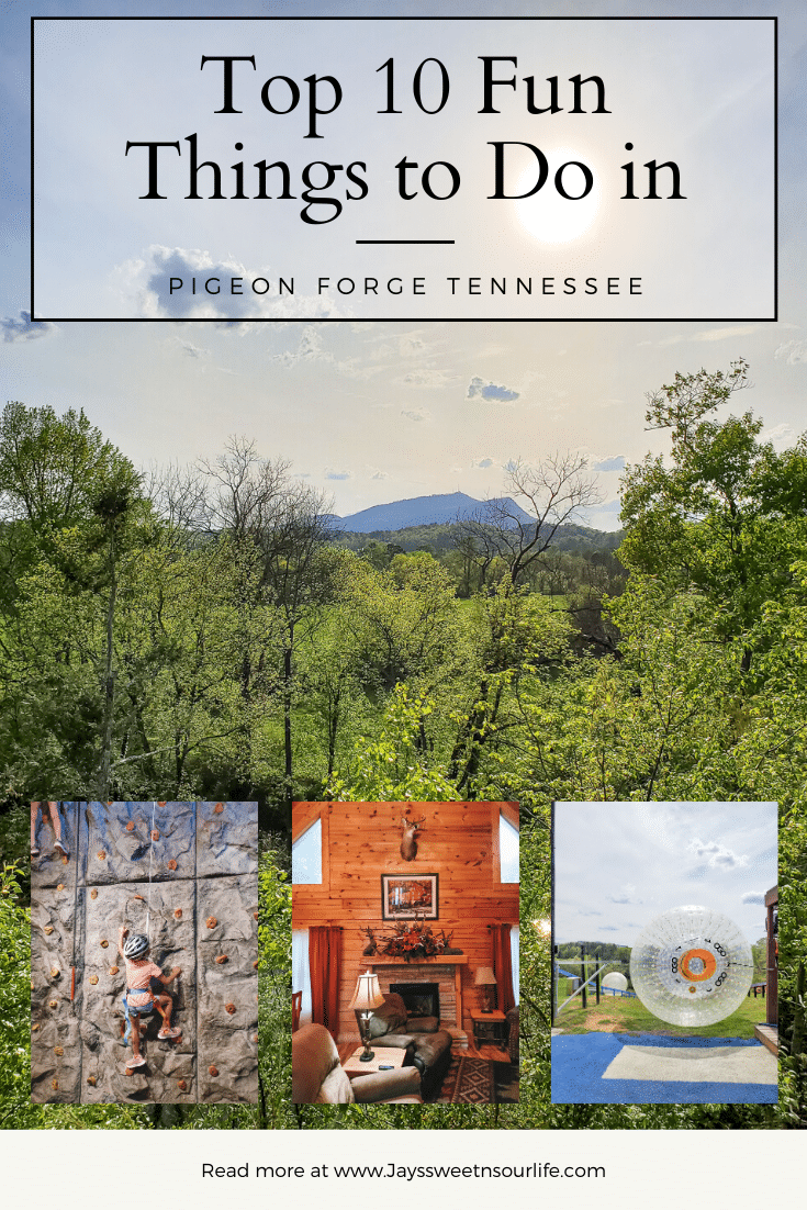 Pigeon Forge Tennessee is full of fun things to do for all ages, the options of things to do are endless. With the Smoky Mountains as your perfect backdrop check out my list of Top 10 Things To Do In Pigeon Forge Tennessee.