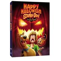 Happy Halloween, Scooby-Doo! Box Art. Scare up some fun with Happy Halloween, Scooby-Doo! An all-new Original animated film featuring Elvira, Mistress of the Dark, and Bill Nye the Science Guy. This fresh take on the animated meddling group of kids will be available on Digital and DVD October 6, 2020.