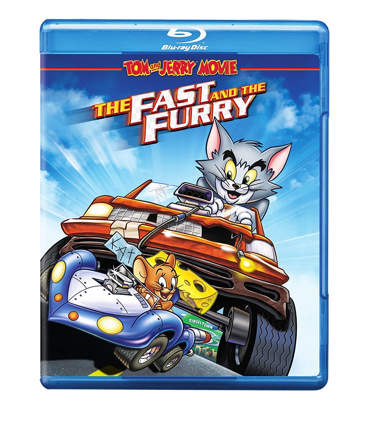 """Tom and Jerry enter an extreme car race competition called the """"Super Race"""" in order to win the grand prize of a beautiful, dream mansion! Tom and Jerry Movie The Fast & The Furry is now available on Bluray and Digital today!"""