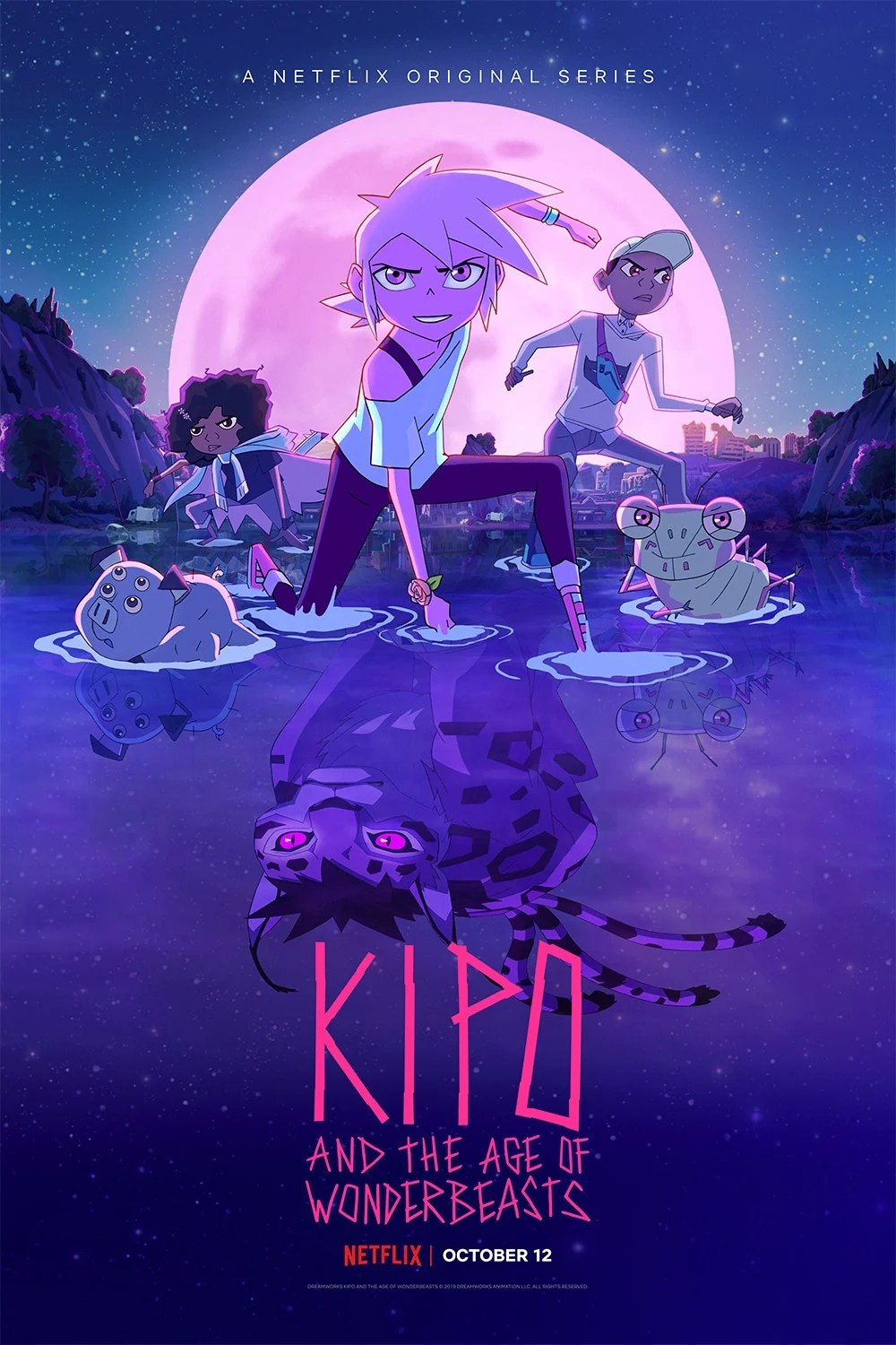 Kipo and The Age of Wonderbeasts Final Season Poster. DreamWorks Kipo and The Age of Wonderbeasts will return to Netflix on October 12 for its third and final season of the whimsical and action-packed series. The fantastical series comes to an epic end with 10 episodes