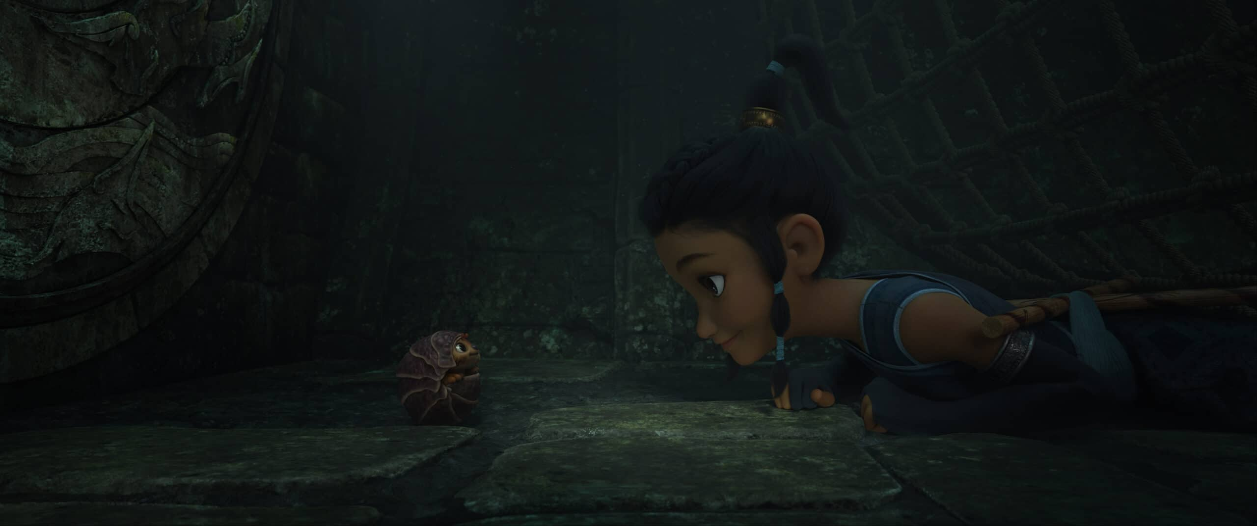"""Raya and The Last Dragon Best Friend. Grab a first look at the new trailer for Walt Disney Animation Studios Raya and the Last Dragon featuring Kelly Marie Tran as the voice of Raya. A lone warrior whose mission is to track down the legendary last dragon in a bid to save Kumandra and unite its lands. Walt Disney Animation Studios' """"Raya and the Last Dragon"""" opens in U.S. theaters on March 12, 2021."""