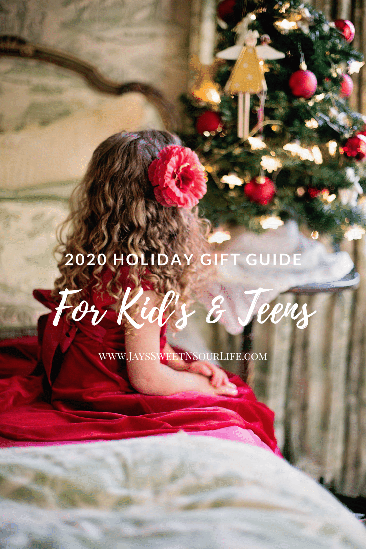 The holiday season is upon us and in just a few short weeks we will be celebrating Christmas! I have partnered with some amazing companies this holiday season to bring you an ultimate list of must-haves in my 2020 Holiday Gift Guide For Kids and Teens.