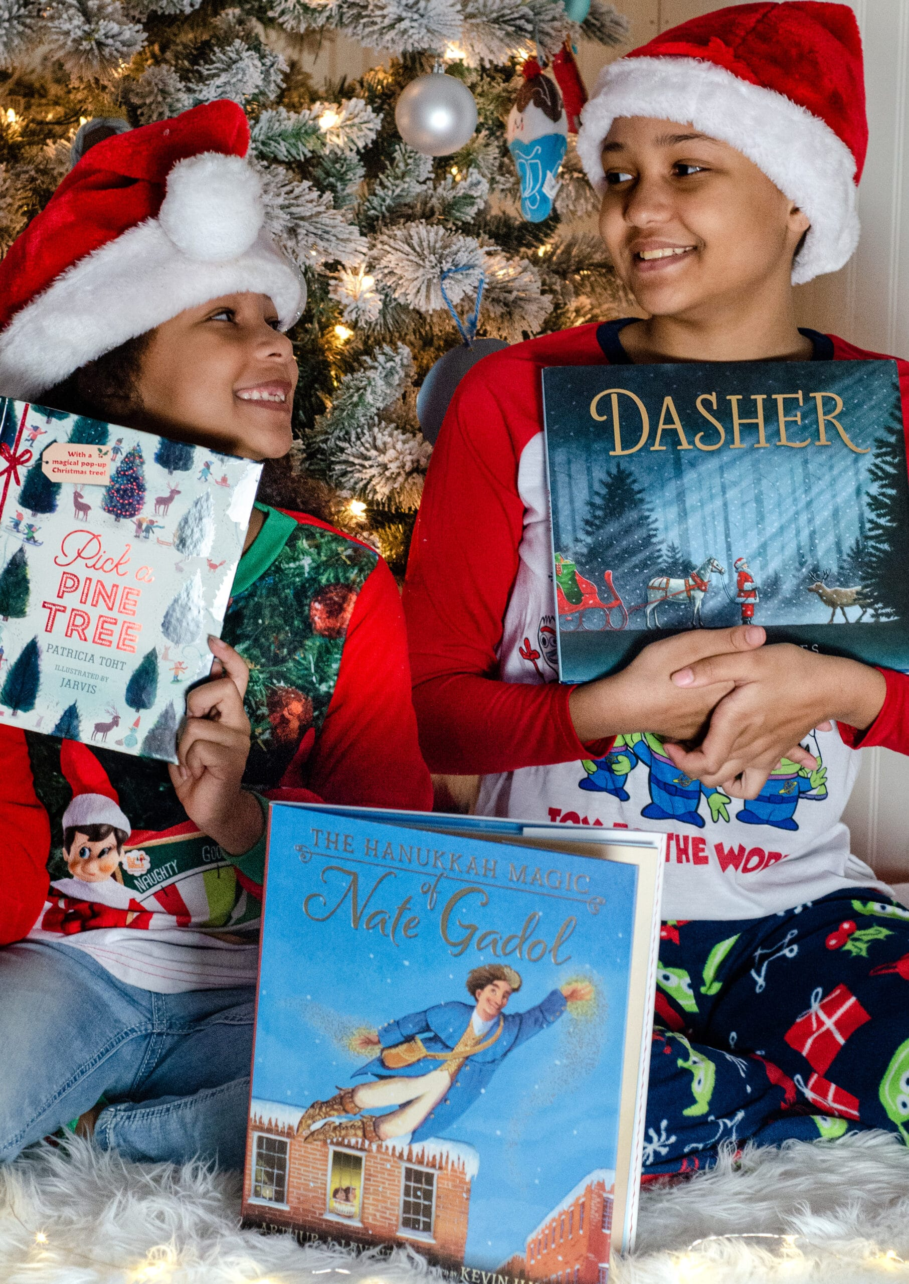 Holiday Books For Kids Ideas. Give the gift of literature this holiday season! These wonderful holiday books for kids make great stocking stuffer gifts. Create your very own Christmas Tree Advent Calander using these Children's holiday books, simply stack them into a tree for a new fun holiday tradition.