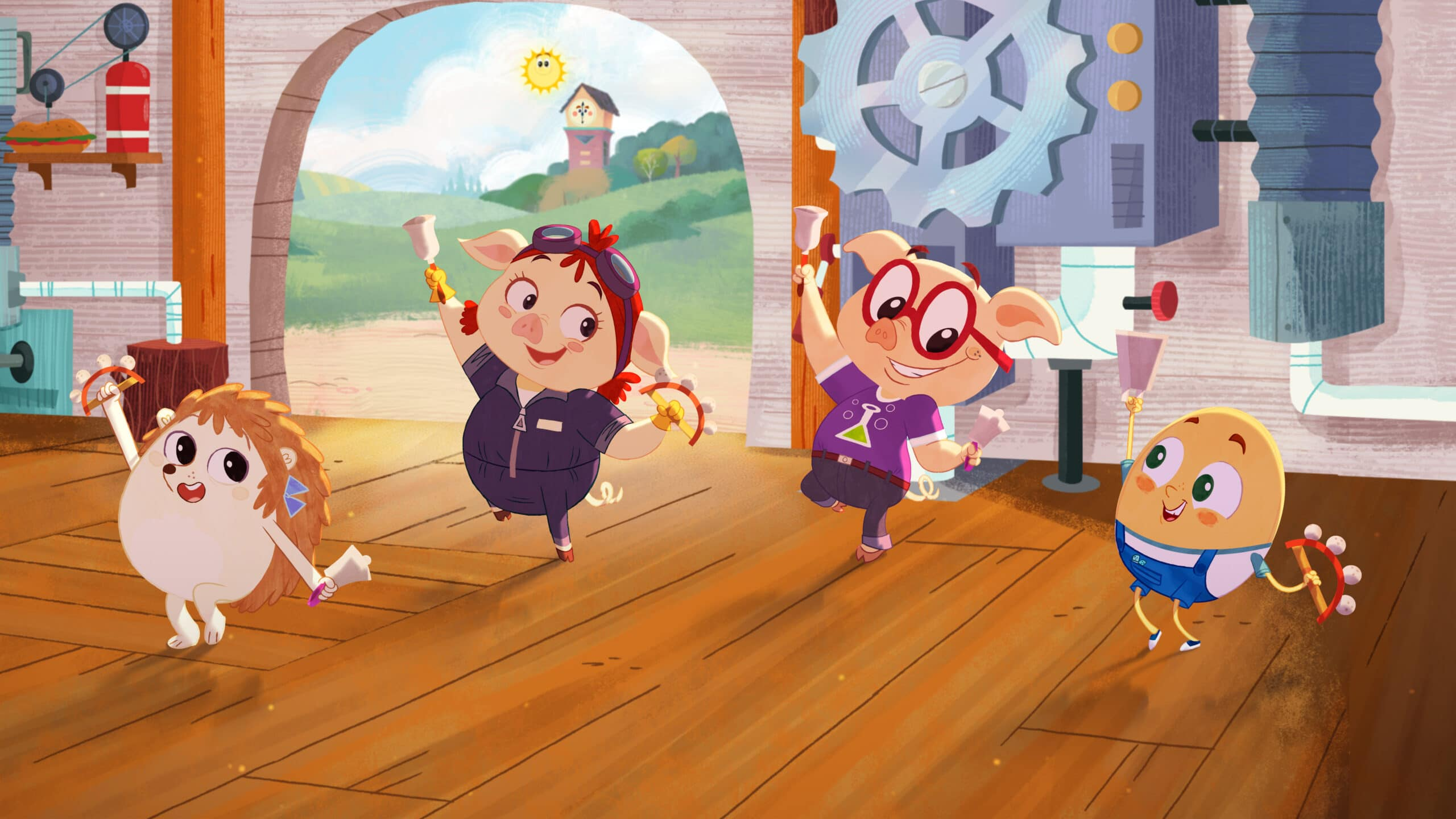 Rhyme Time Town Mary Mary, Jill, Jack, Humpty. Discover more about your favorite characters from the colorful world of Rhyme Time Town. Join Daisy and Cole in 10 all-new singing adventures through the Rhyme Time Town Singalong,coming to Netflix on December 22nd!