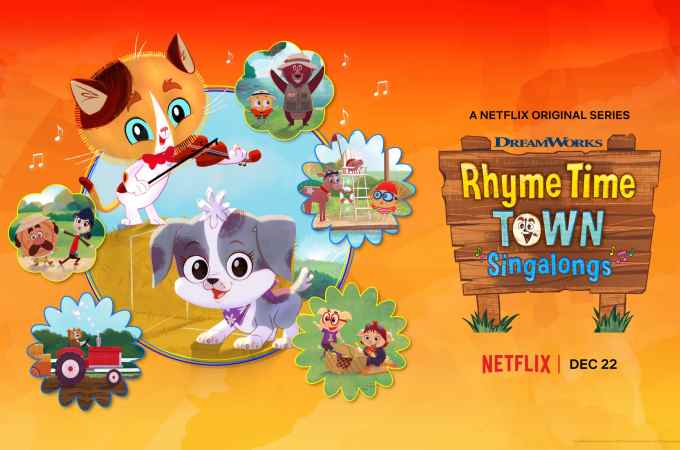 Rhyme Time Town Singalongs. Discover more about your favorite characters from the colorful world of Rhyme Time Town. Join Daisy and Cole in 10 all-new singing adventures through the Rhyme Time Town Singalongs, coming to Netflix on December 22nd!