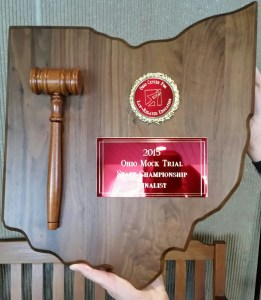 PHS Mock Trial Top 8 in the State 2015