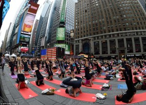 celebration of first international yog day