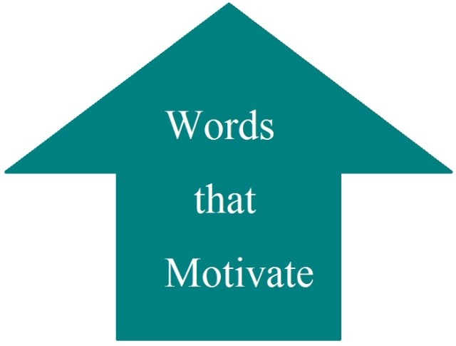 Words that Motivate
