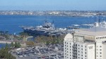 Why is the USS Midway the biggest thing in San Diego?