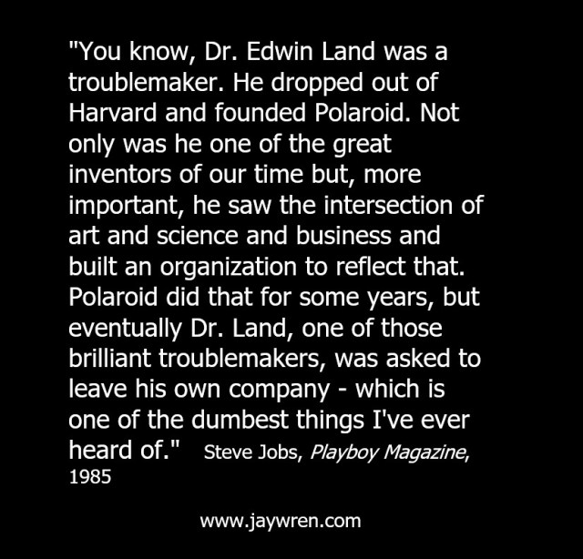 Steve Jobs on Edwin Land
