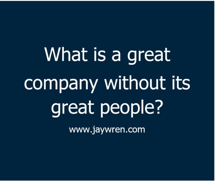 What is a great company without its great people?