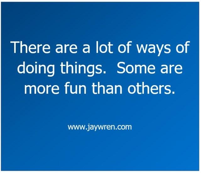 Fun: Fun: Some Things are More Fun Than Others