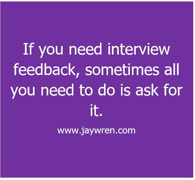 Interview Feedback 2