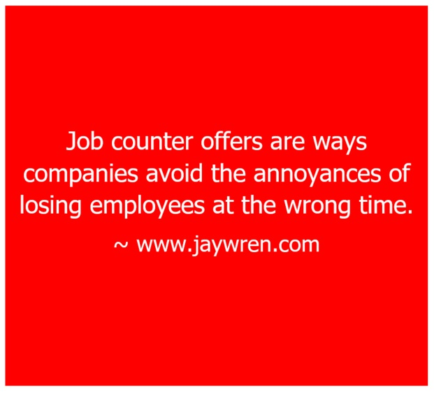 Job Counter Offers