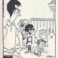 Racist Dennis the Menace Cartoon Strip
