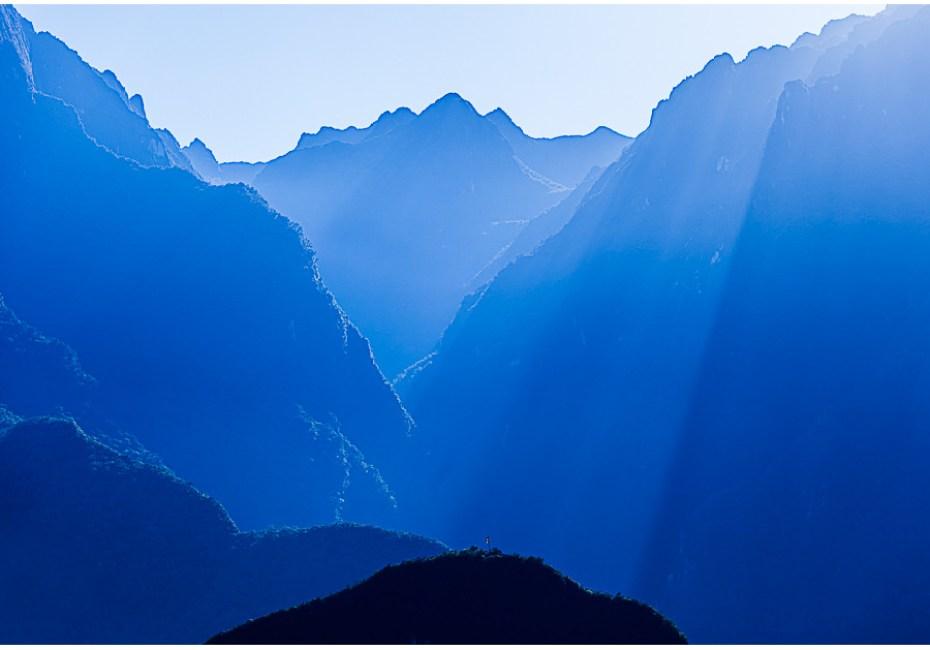 Valley in Blue by Joe Azure.