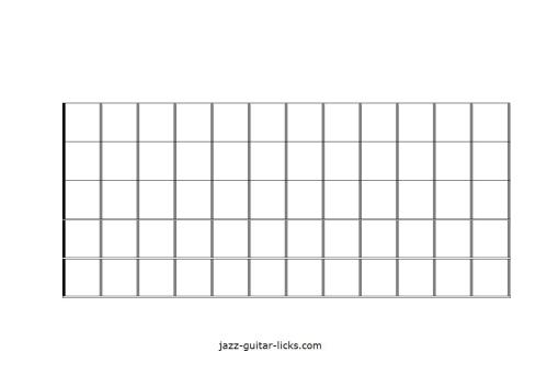 small resolution of blank guitar neck diagram