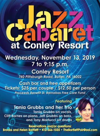 Jazz Cabaret Pittsburgh November 13 2019