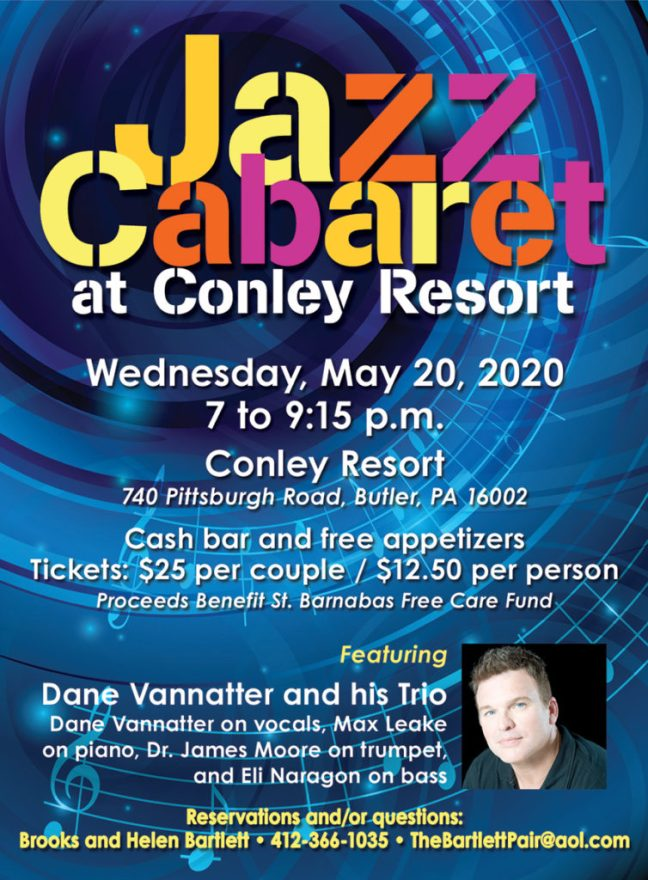 Jazz Cabaret Pittsburgh May 20, 2020