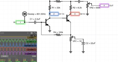 PNP ゲルマニウム FuzzFace 回路図