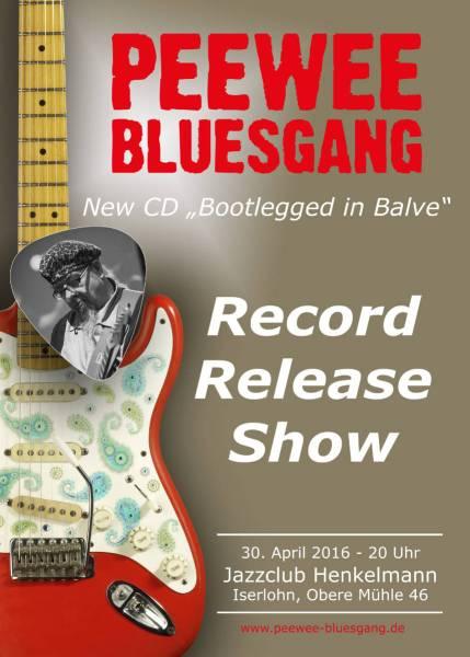 Bootlegged In Balve PeeWee Bluesgang