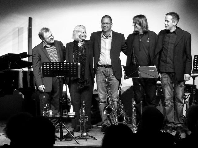 Gloria Cooper's German Quintett The Transatlantic Jazz Connection – feat. Marcel Wasserfuhr