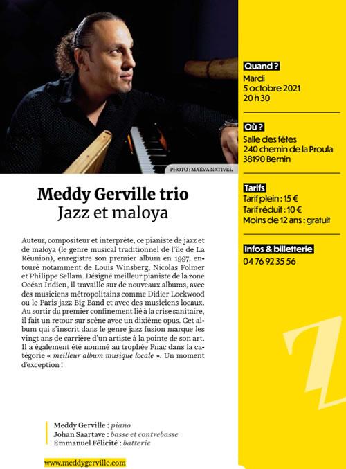 Meddy Gerville Trio