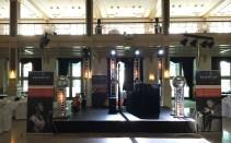 Opstelling Jazz DJ voor diner en feest in Grand Hotel Amrâth Kurhaus Den Haag