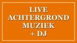 Live Achtergrondmuziek plus DJ