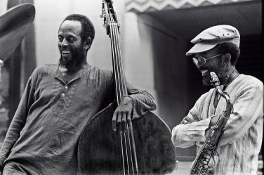 Percy Heath & Jimmy Heath by Tom Marcello