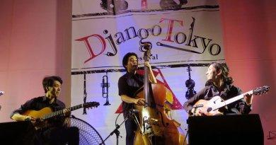 Adrien Moignard Tokyo Django Collective Eliza Wong entrevista