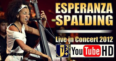 Esperanza Spalding Live 2012 Jazzespresso YouTube Video