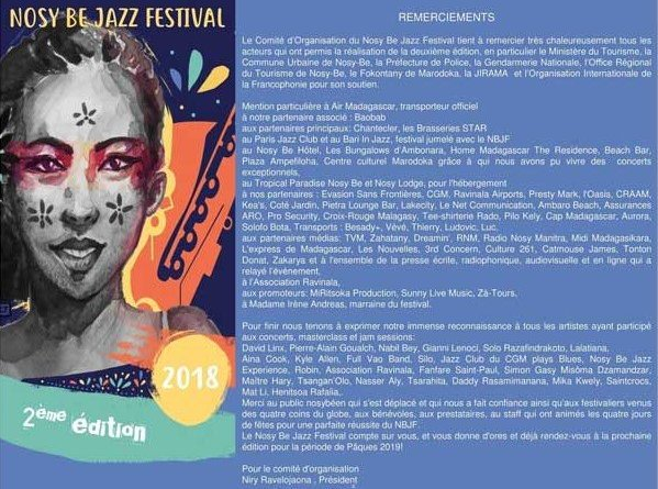 Nosy Be Jazz Festival 2019 Jazzespresso Revista Jazz