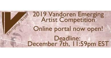 Vandoren Emerging Artist Competition 2019 Jazzespresso Jazz Magazine