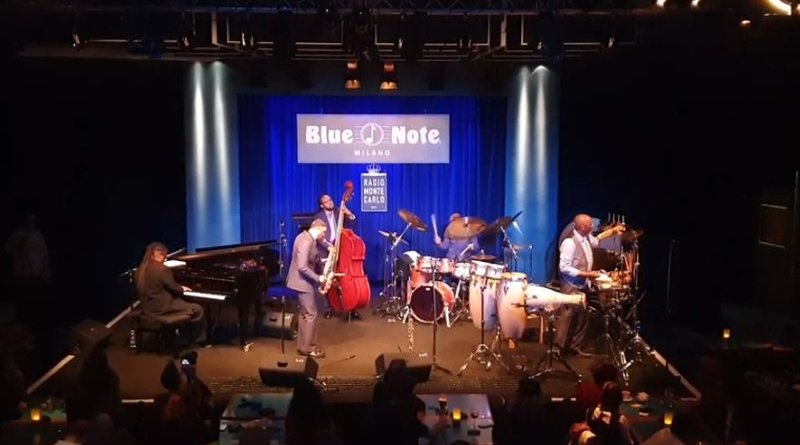 Kenny Garett Blue Note Milano 2019 YouTube Video Jazzespresso 爵士杂志