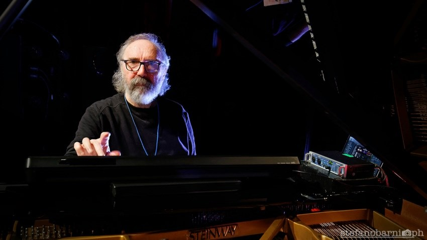 Stefano Barni爵士音乐人物肖像摄影Patrizio Fariselli Jazzespresso