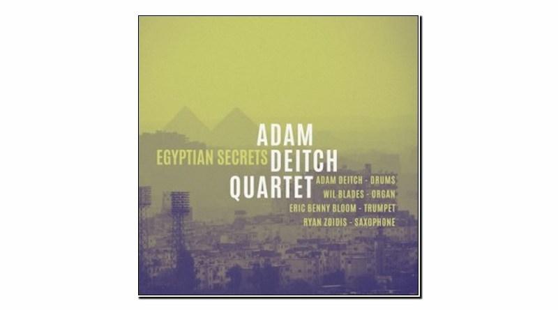 Adam Deitch Quartet Egyptian Secrets Golden Wolf 2019 Jazzespresso 爵士杂志
