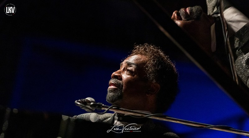 Johnny O'Neal 米兰 Luca Vantusso爵士音乐人物肖像摄影