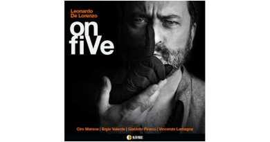 De Lorenzo Leonardo Quintet onfiVe AlfaMusic, Jazzespresso CD