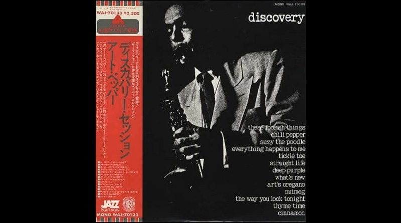 Art Pepper Discovery Session Savoy 1999 Jazzespresso