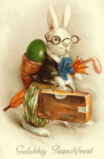 AntiqueEasterVintageGermanPostca-1