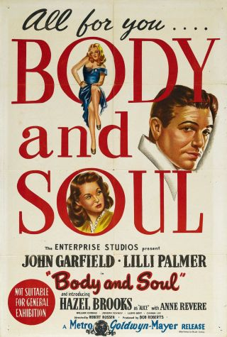 body-and-soul-movie-poster Gli standard del jazz: Body and Soul