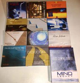 Le copertine dei suoi dodici cd