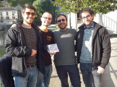 Möbius Strip: Nico Fabrizi, Davide Rufo, Eros Capoccitti, Lorenzo Cellupica