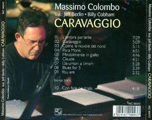 Caravaggio - back cover