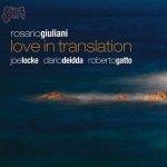Love in translation - Rosario Giuliani