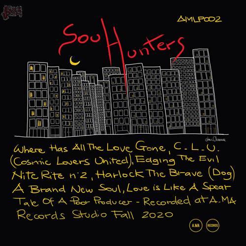 Soul Hunters - Alberto Parmegiani, Tullio Ciriello, Antonio Martino.